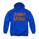 Johnny Bravo Youth Hoodie Imaginary Royal Blue Kids Hoody