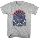 Journey Shirt Alien Head Athletic Heather T-Shirt