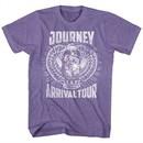 Journey Shirt Arrival Tour Heather Purple T-Shirt