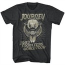 Journey Shirt Frontiers World Tours Charcoal Heather Tee T-Shirt