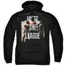 Justice League Movie Hoodie Dawn Unite the League Black Hoody
