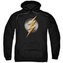 Justice League Movie Hoodie Flash Logo Black Sweatshirt Hoody