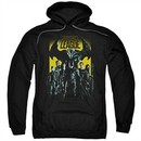 Justice League Movie Hoodie Stand Up To Evil Black Sweatshirt Hoody