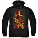 Justice League Movie Hoodie Wonder Woman Black Sweatshirt Hoody