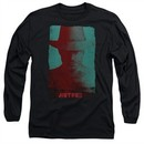 Justified Long Sleeve Shirt Raylan Givens Silhouette Black Tee T-Shirt