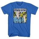 Karate Kid Shirt Catch The Fly Royal Blue T-Shirt