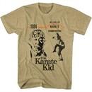 Karate Kid Shirt Crane Kick Sand Heather T-Shirt