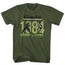 Karate Kid Shirt Final Match Olive Green T-Shirt