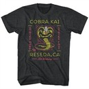 Karate Kid Shirt No Mercy Black T-Shirt