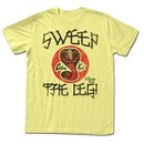 Karate Kid Shirt Sweep The Leg Yellow T-Shirt