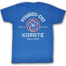 Karate Kid T-Shirt Movie New MDK Adult Royal Blue Tee Shirt