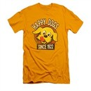 Ken L Ration Shirt Slim Fit Happy Dogs Gold T-Shirt