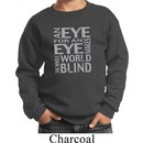 Kids An Eye for an Eye Youth Sweatshirt