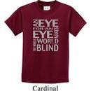 Kids An Eye for an Eye Youth T-shirt