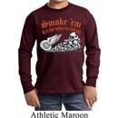 Kids Biker Shirt Smoke Em Sleeve Tee T-Shirt