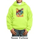 Kids Cat Hoodie Blue Eyes Cat Hoody