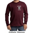 Kids Dodge Guts and Glory Ram Logo Pocket Print Long Sleeve Shirt