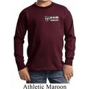 Kids Dodge Ram Trucks Pocket Print Long Sleeve Shirt