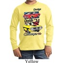 Kids Dodge Shirt Vintage Chargers Long Sleeve Tee T-Shirt