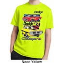 Kids Dodge Shirt Vintage Chargers Moisture Wicking Tee T-Shirt