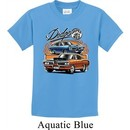 Kids Dodge Tee Blue and Orange Super Bee Youth Shirt