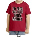 Kids Fitness Shirt Id Flex Toddler Tee T-Shirt