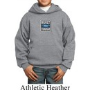Kids Ford Hoodie Built Ford Tough Small Print Hoody
