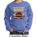 Kids Ford Sweatshirt Mustang Who's The Boss Sweat Shirt