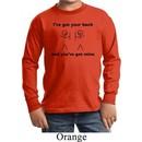 Kids Funny Shirt I've Got Your Back Long Sleeve Tee T-Shirt