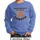 Kids Funny Sweatshirt Thirsty Pretzels Sweat Shirt