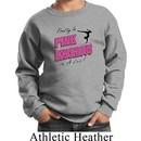 Kids Gymnastics Sweatshirt Pretty in Pink Sweat Shirt