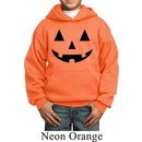 Kids Halloween Hoodie Black Jack O Lantern Hoody