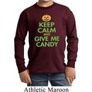 Kids Halloween Shirt Give Me Candy Long Sleeve Tee T-Shirt