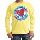 Kids Peace Shirt All You Need is Love Long Sleeve Tee T-Shirt