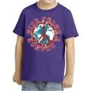 Kids Peace Shirt Give Peace a Chance Toddler Tee T-Shirt