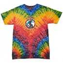 Kids Peace Tie Dye Shirt Come Together Woodstock Youth Tie Dye Tee