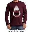 Kids Shark Shirt 3D Shark Long Sleeve Tee T-Shirt
