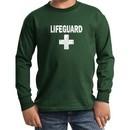 Kids Shirt Distressed Lifeguard Long Sleeve Tee T-Shirt