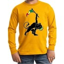 Kids Shirt Rasta Triangle Long Sleeve Tee T-Shirt