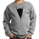 Kids Sweatshirt Basic Black Tuxedo Sweat Shirt