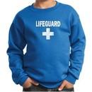 Kids Sweatshirt Distressed Lifeguard Sweat Shirt