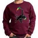 Kids Sweatshirt Rasta Triangle Sweat Shirt