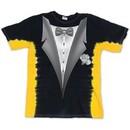 Kids Tuxedo Tux Shirt