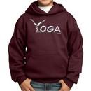 Kids Yoga Hoodie Yoga Spelling Hoody