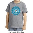 Kids Yoga Shirt Blue Vishuddha Toddler Tee T-Shirt