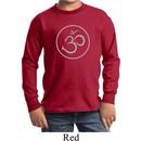 Kids Yoga Shirt Thin OM Long Sleeve Tee T-Shirt
