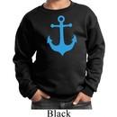 Kids Yoga Sweatshirt Blue Anchor Sweat Shirt