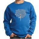 Kids Yoga Sweatshirt Grey Tree Pose Sweat Shirt