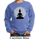 Kids Yoga Sweatshirt Meditating Buddha Youth Sweat Shirt