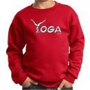 Kids Yoga Sweatshirt Yoga Spelling Sweat Shirt
